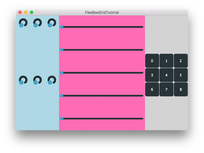 JUCE: Tutorial: Responsive GUI layouts using FlexBox and Grid