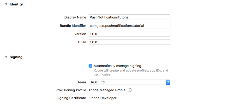 JUCE: Tutorial: Push Notifications on desktop and mobile devices